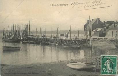 "CPA FRANCE 80 ""Le Crotoy, Le port""""."