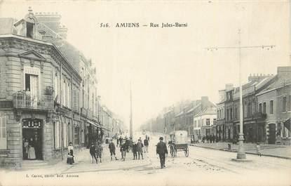 "CPA FRANCE 80 ""Amiens, Rue Jules Barni""."