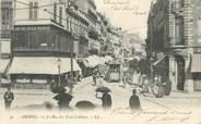 """80 Somme CPA FRANCE 80 """"Amiens, La rue des trois Cailloux""""."""