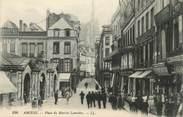 """80 Somme CPA FRANCE 80 """"Amiens, Place du Marché Lancelles""""."""