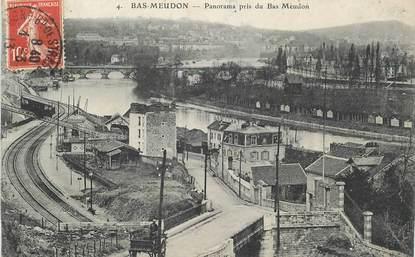 """CPA FRANCE 92 """"Meudon, Panorama pris du Bas Meudon"""""""