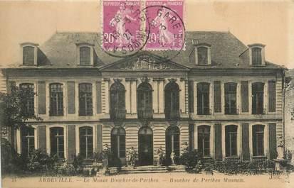 """CPA FRANCE 80 """"Abbeville, Le musée Boucher de Perthes""""."""