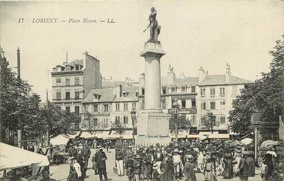 """CPA FRANCE 56 """"Lorient, Place Bisson"""""""