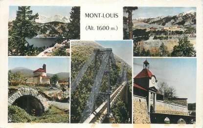 """CPSM FRANCE 66 """"Mont Louis, Vues""""."""