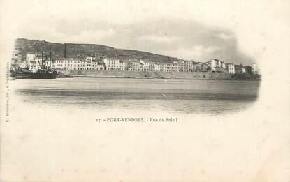 "CPA FRANCE 66 ""Port Vendres, Rue du solei""."