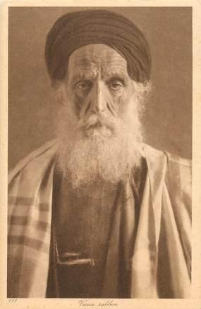 "CPA JUDAICA ""Vieux Rabbin"" / Ed. Lehnert & Landrock"