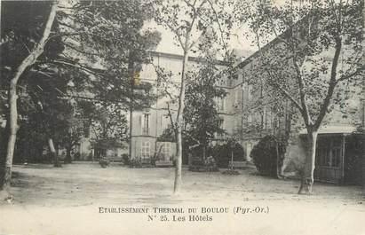 """CPA FRANCE 66 """"Le Boulou, Les Hôtels""""."""