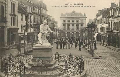 """CPA FRANCE 56 """"Lorient, Le Cours de la Bôve"""""""
