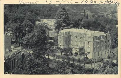 """CPA FRANCE 66 """"Vernet les Bains, Hôtel du Parc""""."""