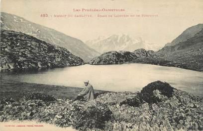 "CPA FRANCE 66 ""Massif du Carlitte, Etang de Ladevèze""."