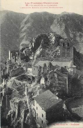 "CPA FRANCE 66 "" St Martin du Canigou, L'ancienne abbaye avant sa restauration""."