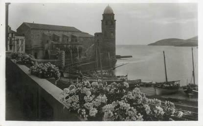"""CPSM FRANCE 66 """"Collioure, L'église""""."""