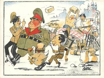 CPA MILITAIRE / Guerre 1939 /1945 / CARICATURE