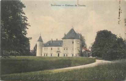 """CPA FRANCE 74 """"Douvaine, Château de Troche""""."""