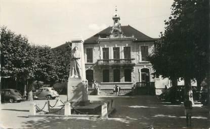 """CPSM FRANCE 74 """"Douvaine, La Mairie""""."""