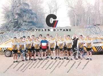 CPA CYCLISME / Equipe compétition Renault / Cycles Gitane