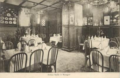 "CPA FRANCE 67 ""Strasbourg, Grande brasserie Restaurant, petite salle à manger""."