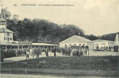 "CPA FRANCE 67 ""Strasbourg, L'exposition internationale Pasteur""."