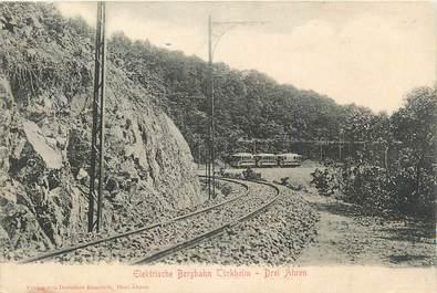 """CPA FRANCE 68 """"Turkheim"""". / TRAINS"""