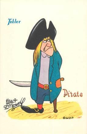 CPA ILLUSTRATEUR W.DISNEY / Pirate
