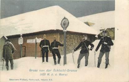 "CPA FRANCE 68 ""La Schlucht"". / DOUANE"