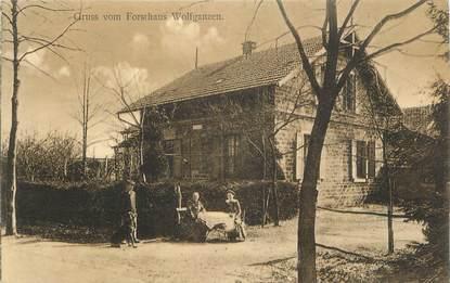 """CPA FRANCE 68 """"Forsthaus Wolfganzen"""". / GRUSS"""