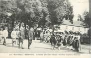 """68 Haut Rhin CPA FRANCE 68 """"Massevaux, Le Général Joffre visite l'Alsace""""."""