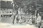 """68 Haut Rhin CPA FRANCE 68 """"Massevaux, Revue des troupes sur la place du marché""""."""
