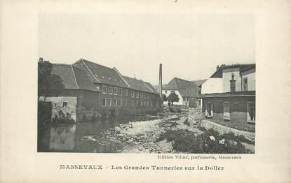"""CPA FRANCE 68 """"Massevaux, Les grandes tanneries sur la Doller""""."""