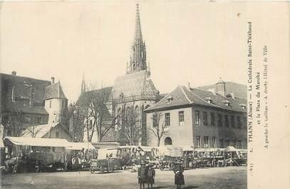 """CPA FRANCE 68 """"Thann, La cathédrale St Thiébaud""""."""