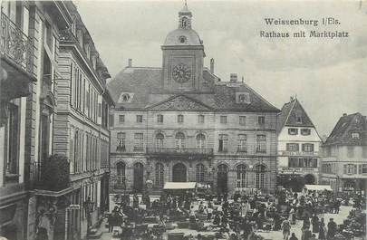 """CPA FRANCE 68 """"Wissenbourg """"."""
