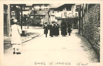 "CARTE PHOTO FRANCE 73 ""Bourg Saint Maurice"""