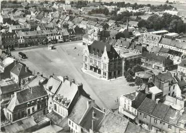 """CPSM FRANCE 59 """"Orchies, L'Hôtel de Ville""""."""