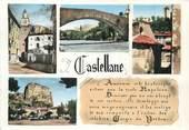"""04 Alpe De Haute Provence CPSM FRANCE 04 """"Castellane, Vues""""."""