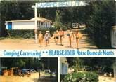 """83 Var CPSM FRANCE 83 """"Notre Dame de Mont, Camping Beauséjour""""."""