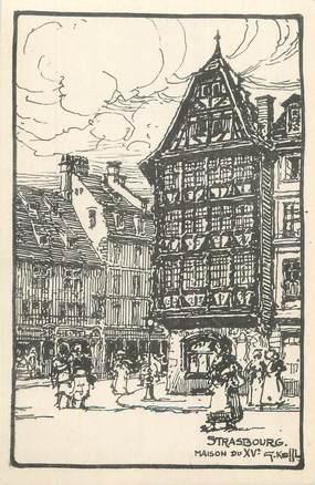 "CPA FRANCE 67 ""Strasbourg, Maison du XVème siècle""."