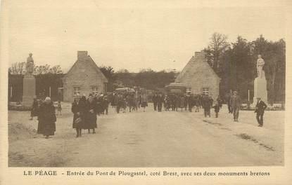 """CPA FRANCE 29 """"Plougastel, Entrée du pont""""."""