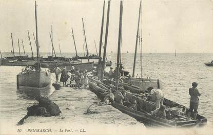 "CPA FRANCE 29 ""Penmarch, Le port""."