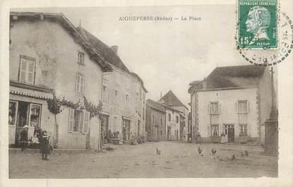 "CPA FRANCE 69 ""Aigueperse, La place""."