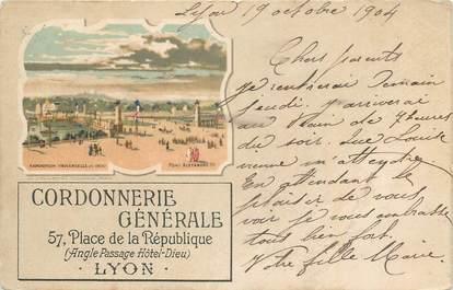 """CPA FRANCE 69 """"Lyon, Vue """"."""