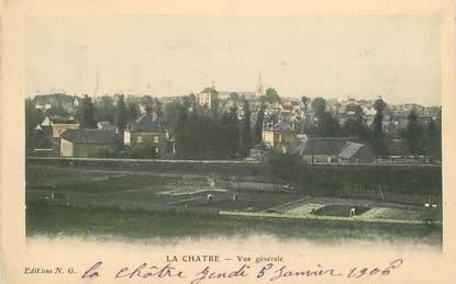"""CPA  FRANCE 36 """"La Chatre, vue générale"""""""