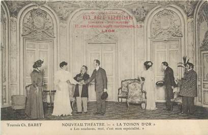 """CPA FRANCE 69 """"Lyon, Nouveau Théâtre La Toison d'Or""""./ THEATRE"""