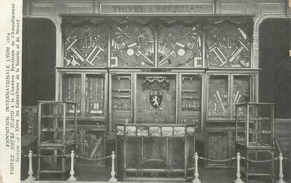 "CPA FRANCE 69 ""Lyon, Exposition internationale de 1914""."