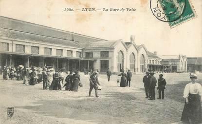 """CPA FRANCE 69 """"Lyon, La gare de la Vaise"""""""