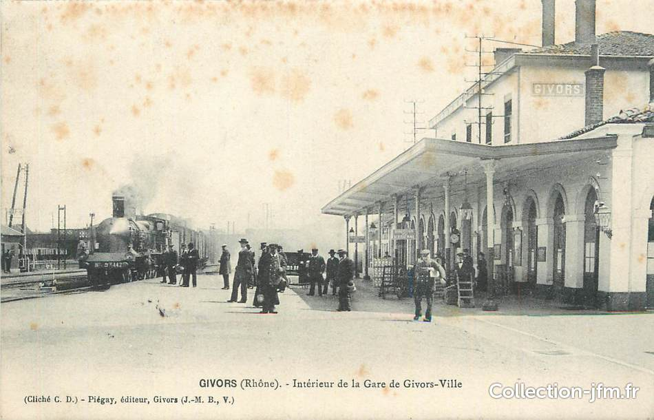 Givors France  city images : CPA FRANCE 69