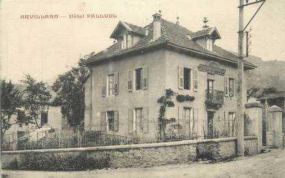 """CPA FRANCE 73 """"Arvillard, Hôtel Palluel""""."""
