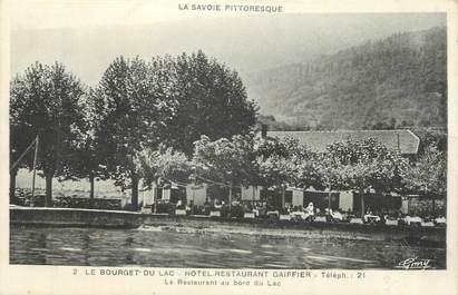 """CPA FRANCE 73 """"Le Bourget du Lac, Hôtel restaurant Gaiffier""""."""