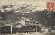 "73 Savoie CPA FRANCE 73 ""Bourg St Maurice, La gare"". /TRAIN"