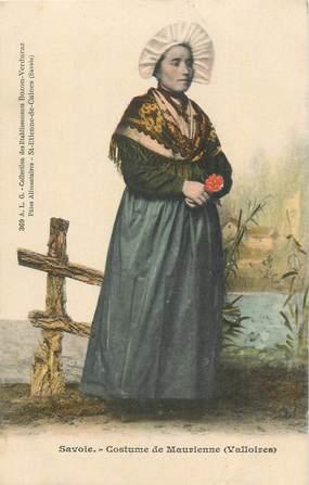 """CPA FRANCE 73 """"La Chambre, Costumes de la Savoie"""". EDITION BOZON VERDURAZ"""