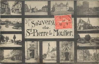 """CPA FRANCE 58 """"Saint Pierre le Moutier"""""""